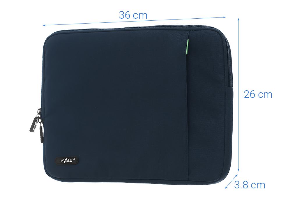 Túi chống sốc Laptop 14 inch có ngăn phụ eValu LMP-T004D