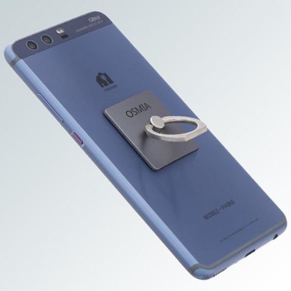 Móc dán điện thoại OSMIA RingCK035 Xám