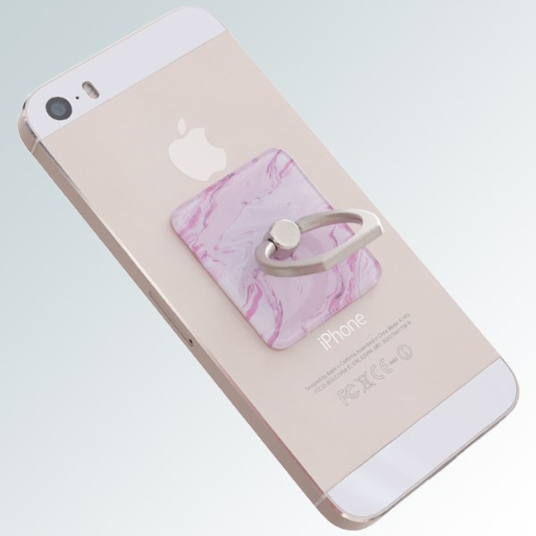 Móc dán điện thoại OSMIA RingCK041 Vân Hồng
