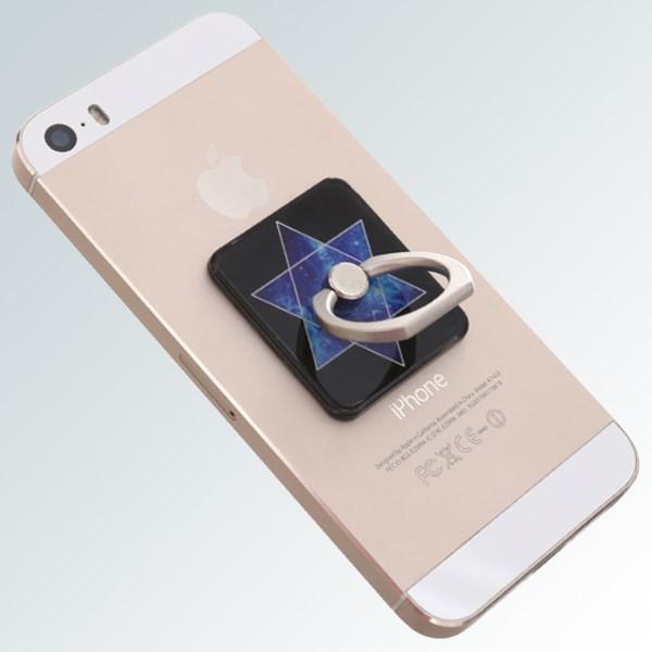 Móc dán điện thoại OSMIA RingCK043 Sao Đen