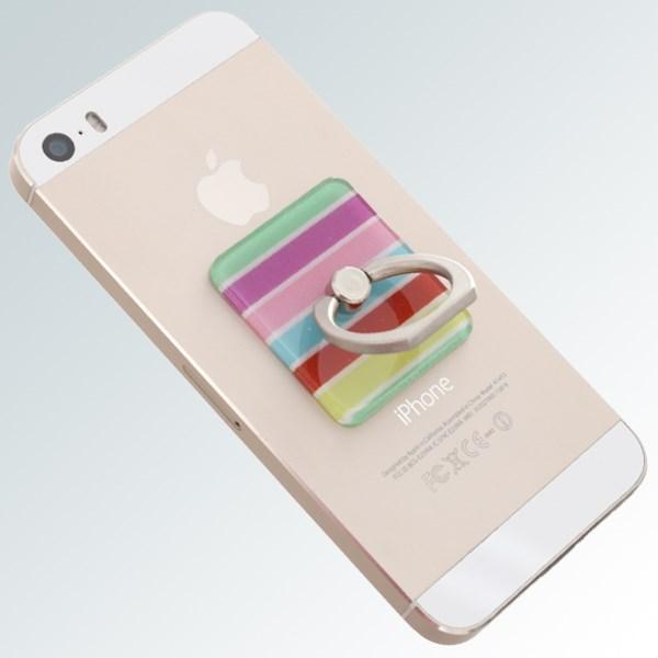 Móc dán điện thoại OSMIA RingCK044 Sọc Vàng