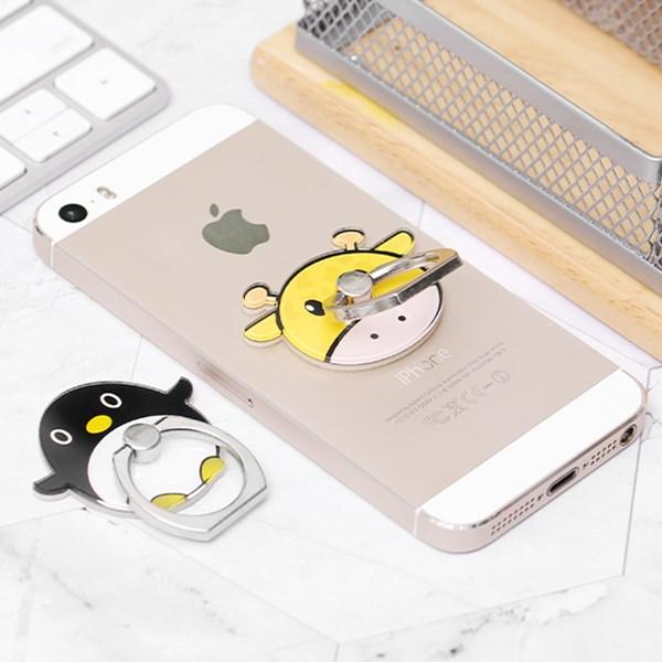 Bộ 2 móc điện thoại OSMIA CK-CRS11 Hươu cánh cụt vàng