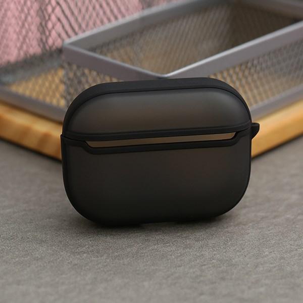 Túi đựng AirPods Pro nhựa cứng JM SP01 Đen