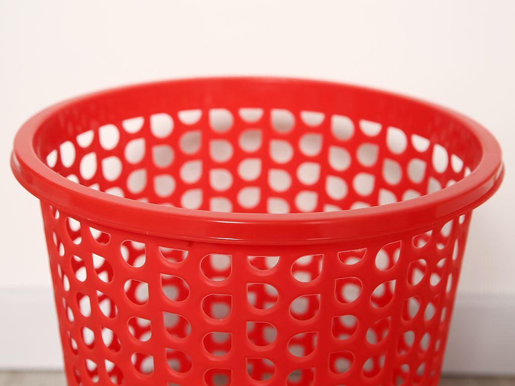 Sọt nhựa tròn trung Duy Tân 31.5x30cm (giao màu ngẫu nhiên) 2