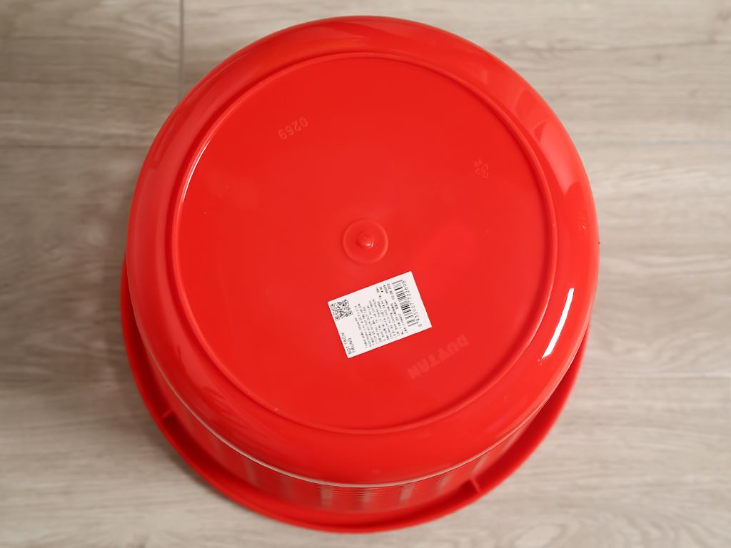 Sọt nhựa tròn trung Duy Tân 31.5x30cm (giao màu ngẫu nhiên) 4