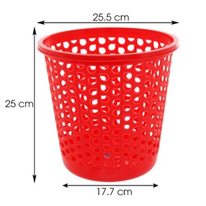 Sọt nhựa tròn nhỏ Duy Tân 25x25 cm
