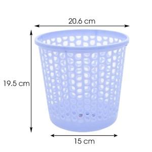 Sọt nhựa tròn mini Duy Tân 19.5x20.6 cm