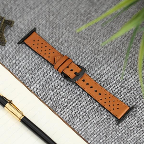Dây đeo Apple watch 42-44mm Jinya JA4003 Nâu