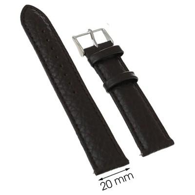 Dây da đồng hồ 20 mm nâu M1500.42