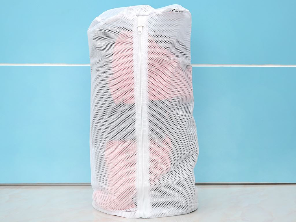 Túi giặt vải lưới trụ tròn NNB 17x40 cm 1
