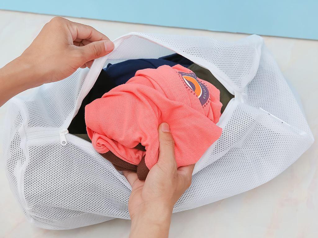 Túi giặt vải lưới trụ tròn NNB 17x40 cm 3