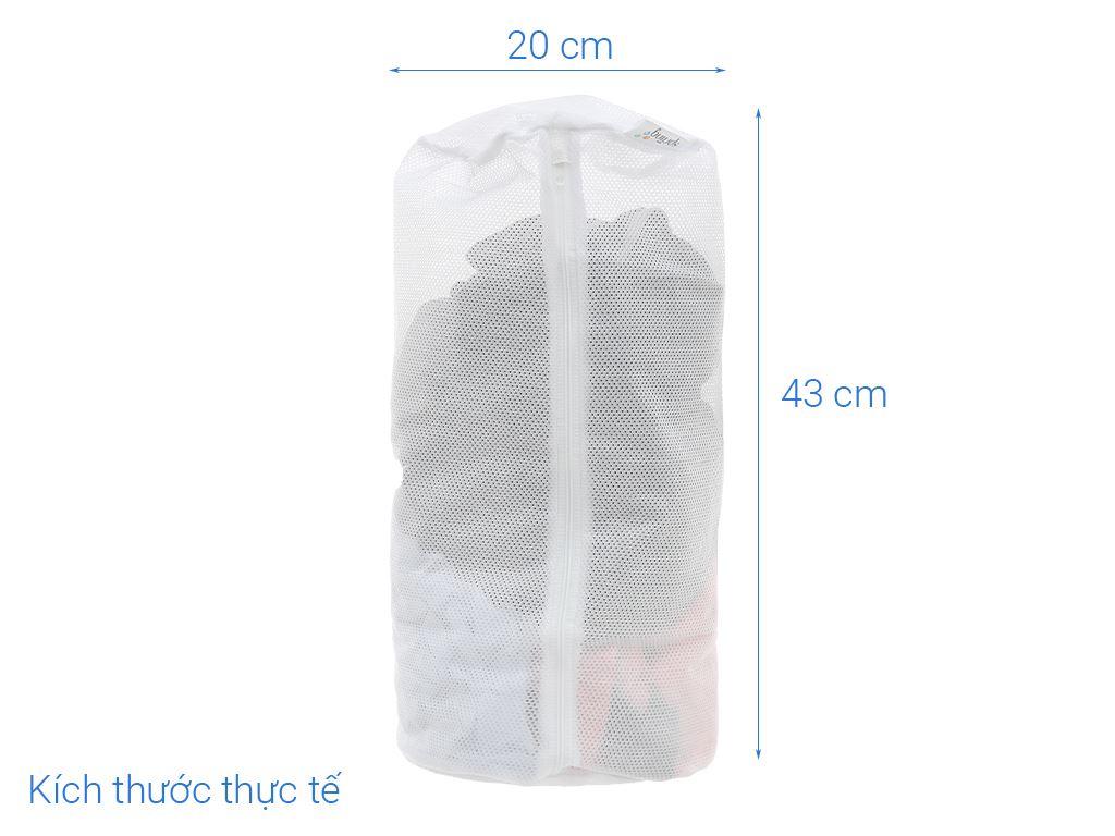 Túi giặt vải lưới trụ tròn NNB 17x40 cm 5