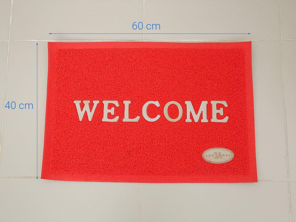 Thảm welcome nhựa Megahome 40x60cm (giao màu ngẫu nhiên) 5