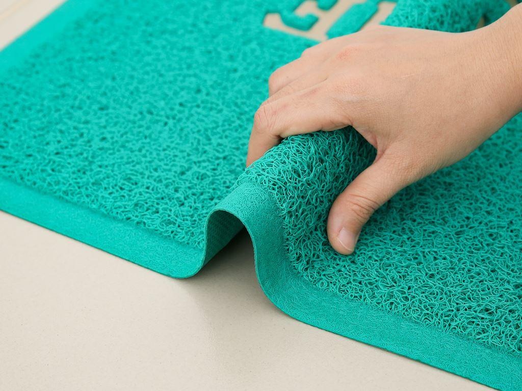 Thảm welcome nhựa Megahome 49.5x69cm (giao màu ngẫu nhiên) 3