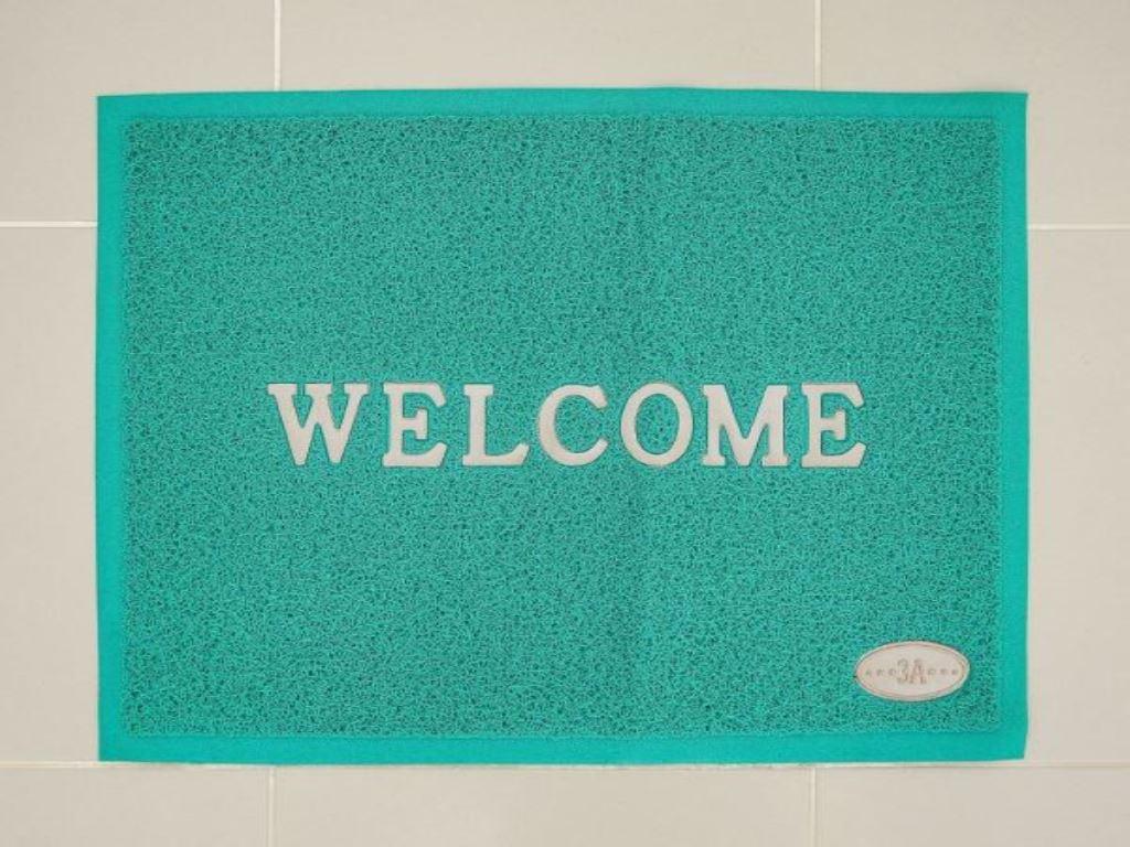 Thảm welcome nhựa Megahome 49.5x69cm (giao màu ngẫu nhiên) 1
