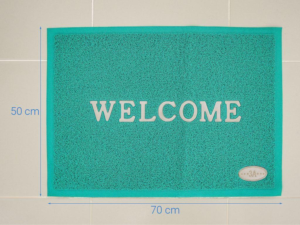 Thảm welcome nhựa Megahome 49.5x69cm (giao màu ngẫu nhiên) 6