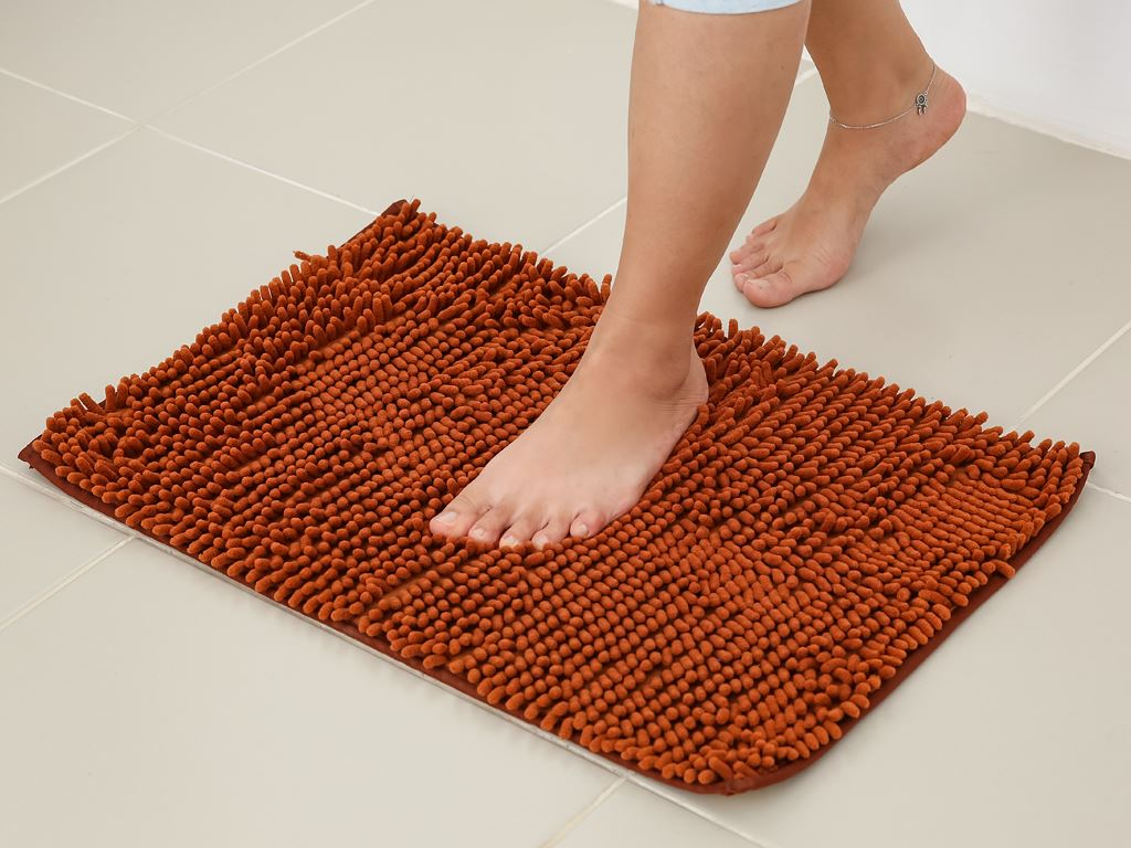 Thảm chùi chân microfiber Megahome 37x57.5cm (giao màu ngẫu nhiên) 4