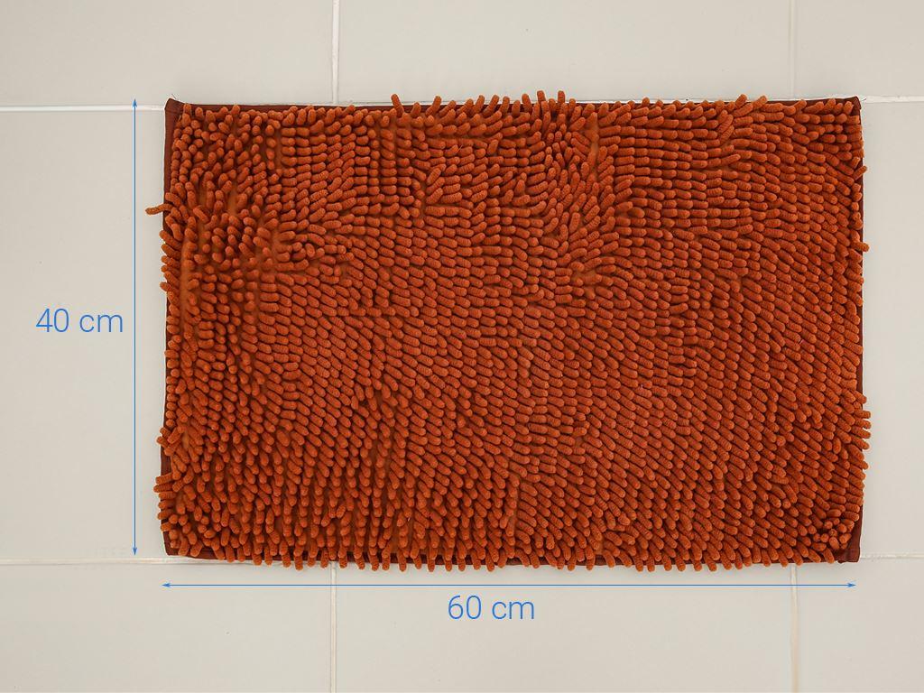 Thảm chùi chân microfiber Megahome 37x57.5cm (giao màu ngẫu nhiên) 5