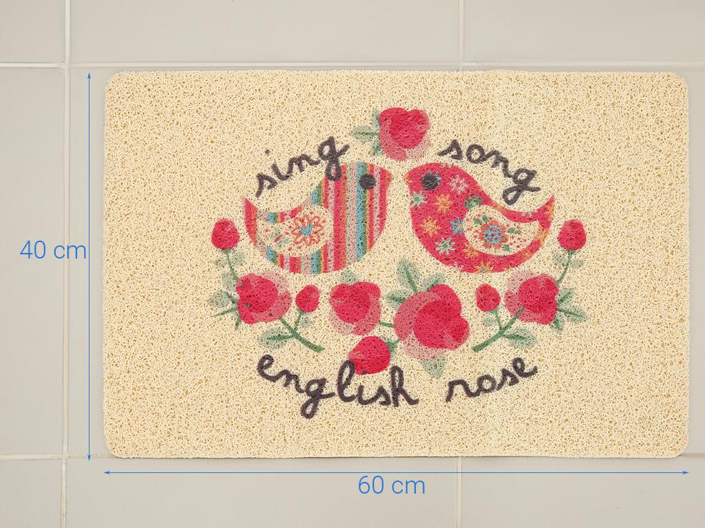 Thảm nhựa hoa văn Megahome 39x59.8cm (giao màu ngẫu nhiên) 4