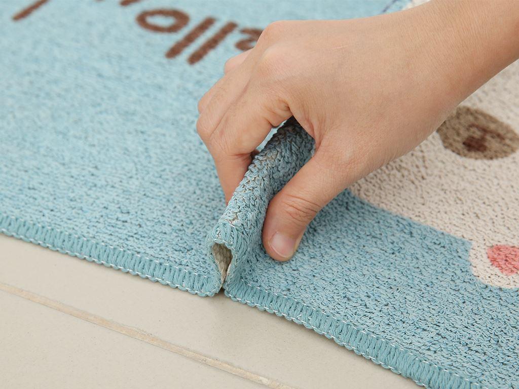Thảm cotton Bách hóa XANH 35x50cm (giao màu ngẫu nhiên) 3