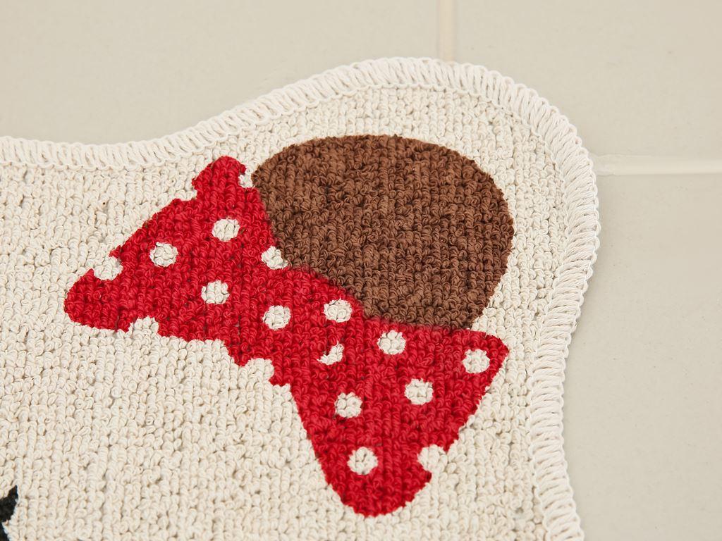Thảm cotton Bách hóa XANH 45x50cm (giao màu ngẫu nhiên) 2