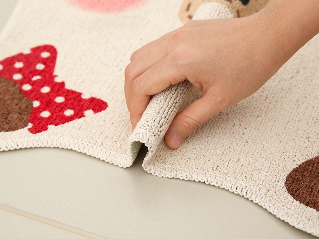 Thảm cotton Bách hóa XANH 45x50cm (giao màu ngẫu nhiên) 3