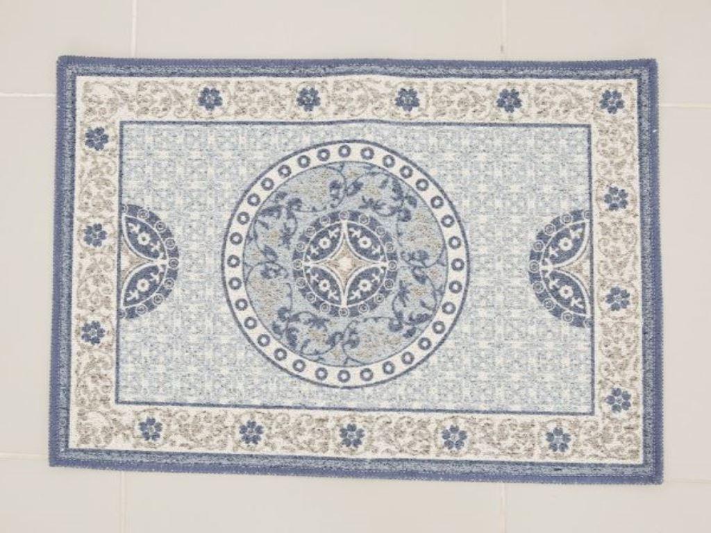 Thảm cotton Bách hóa XANH 45x65cm (giao màu ngẫu nhiên) 1