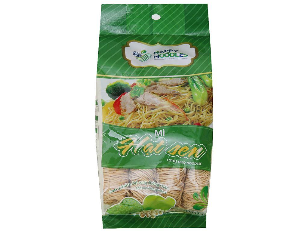 Mì hạt sen Happy Noodles gói 400g 2
