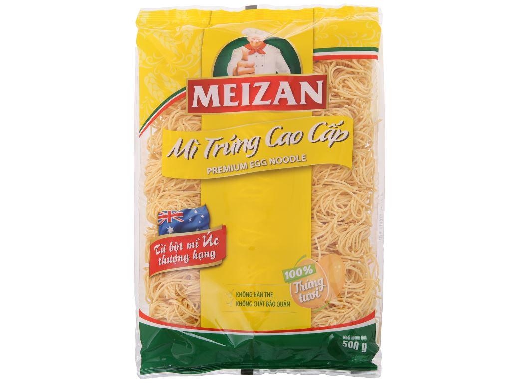 Mì trứng cao cấp Meizan gói 500g 2
