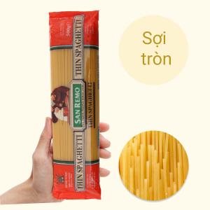Mì Spaghetti số 4 sợi mảnh San Remo gói 500g