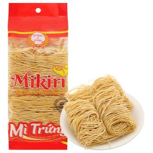 Mì trứng sợi tròn cao cấp Mikiri gói 350g