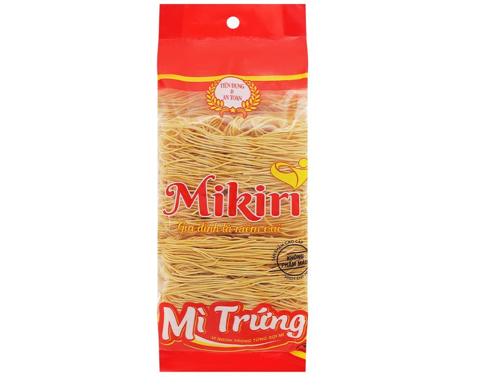 Mì trứng sợi tròn cao cấp Mikiri gói 350g 1