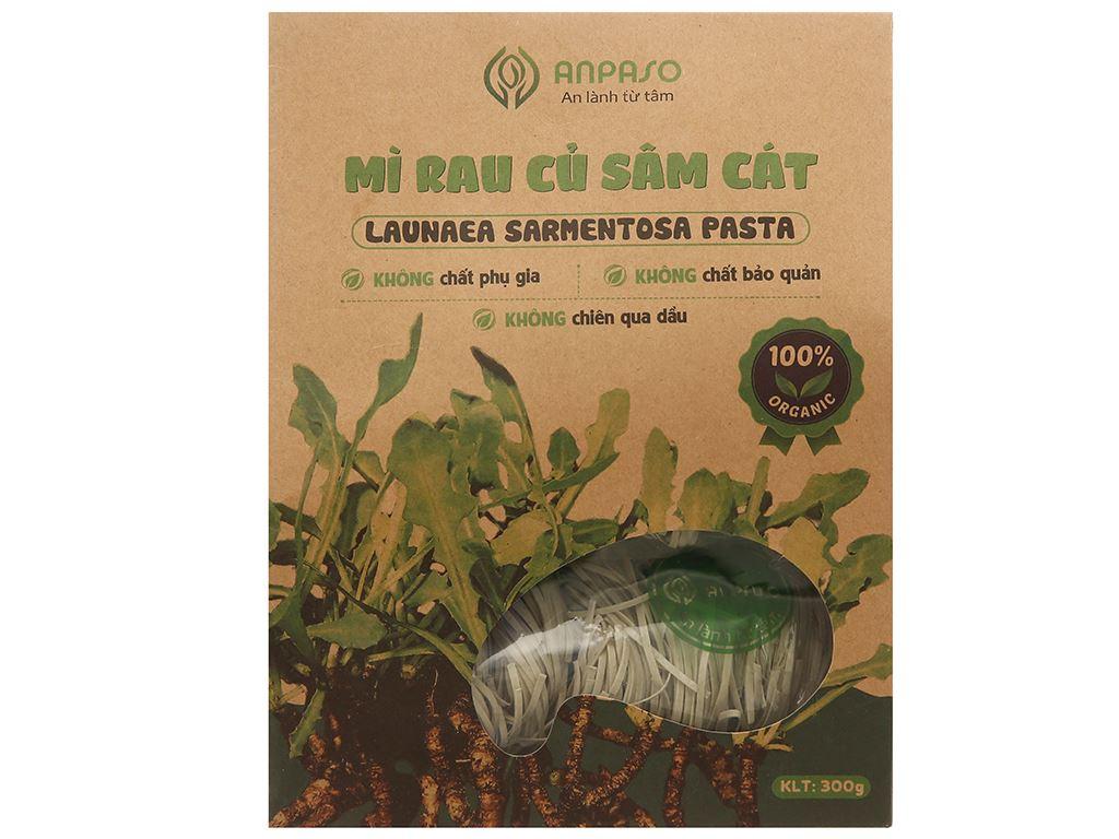 Mì sâm cát Anpaso Organic gói 300g 1