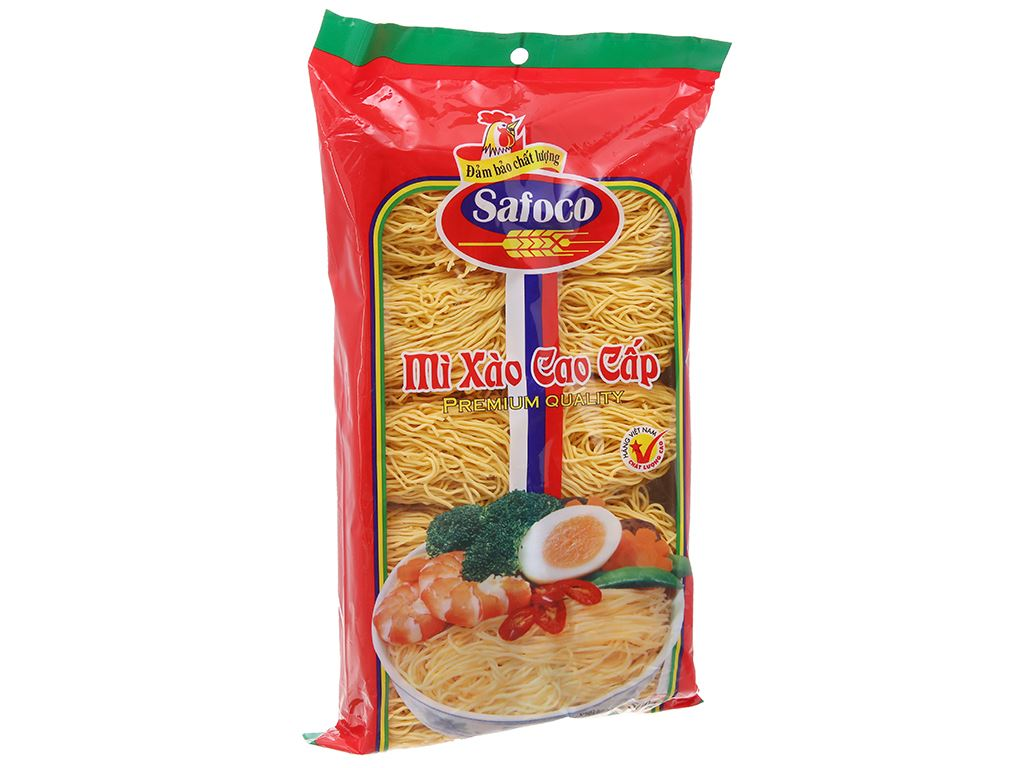Mì xào cao cấp Safoco gói 500g 2