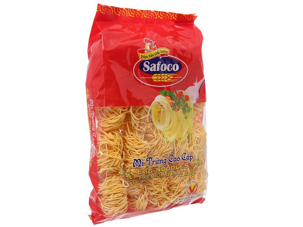 Mì trứng cao cấp Safoco gói 500g 2