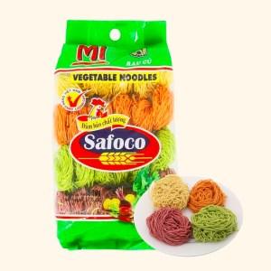 Mì rau củ sợi nhỏ Safoco 163299 gói 500g