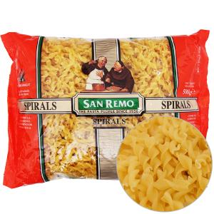 Nui xoắn Spirals số 16 San Remo gói 500g