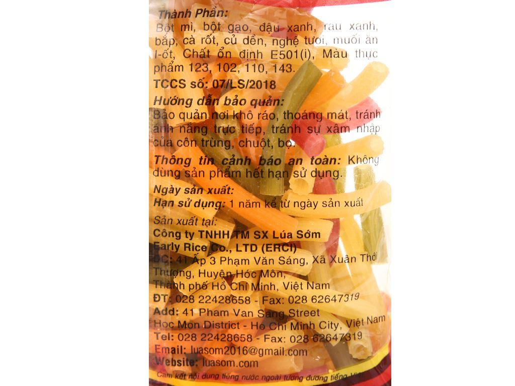 Nui rau củ Bốn mùa Erci gói 200g 4