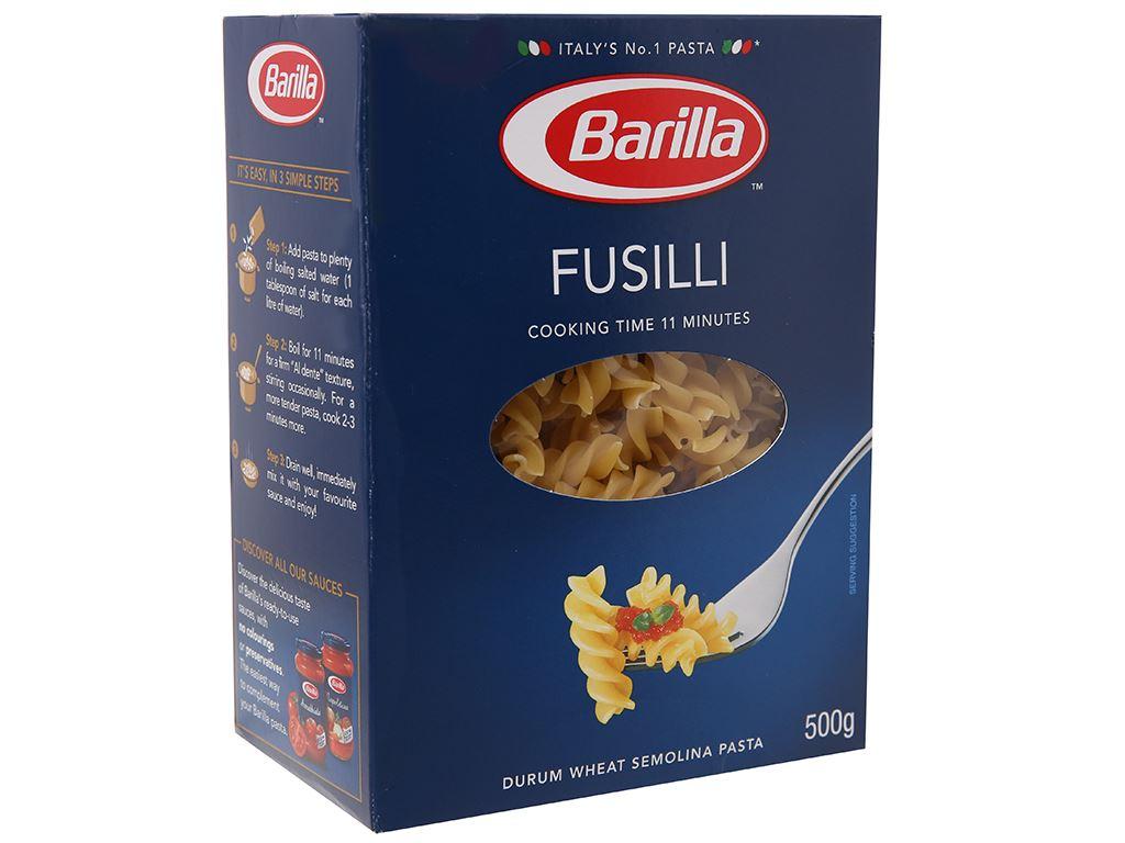 Nui xoắn Barilla hộp 200g 2