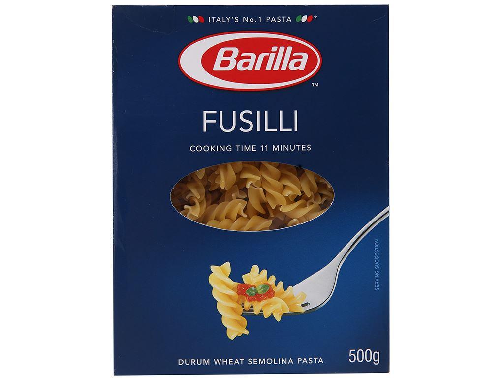 Nui xoắn Barilla hộp 200g 3