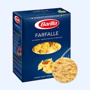 Nui hình nơ Farfalle Barilla hộp 500g