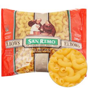 Nui chữ C Elbows số 35 San Remo gói 500g