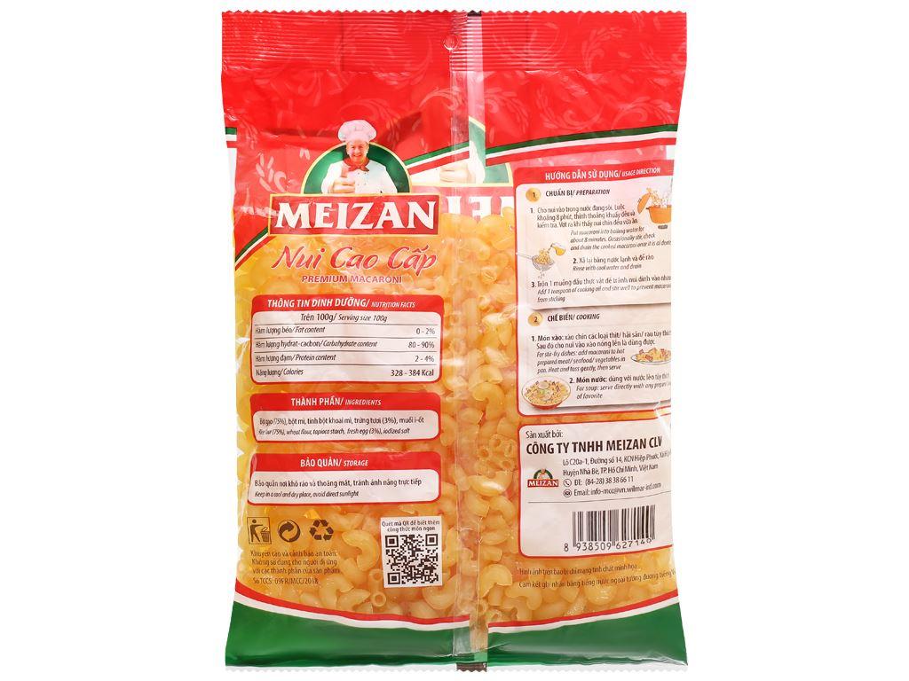 Nui cao cấp chữ C Meizan gói 200g 2