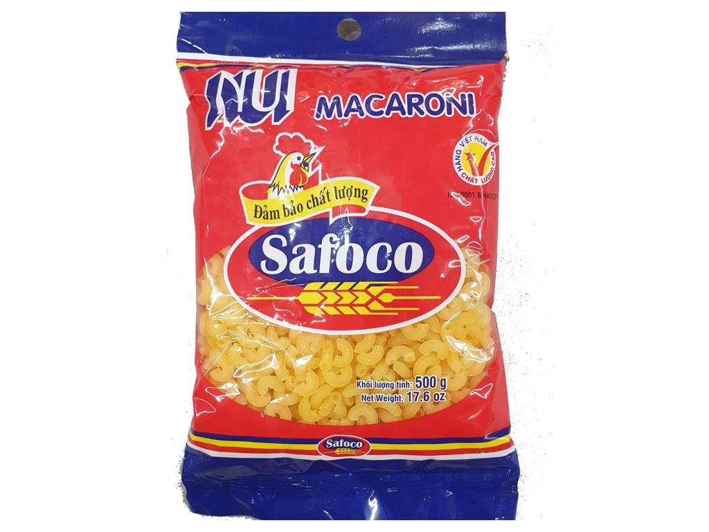 Nui tôm khô Safoco gói 500g 1