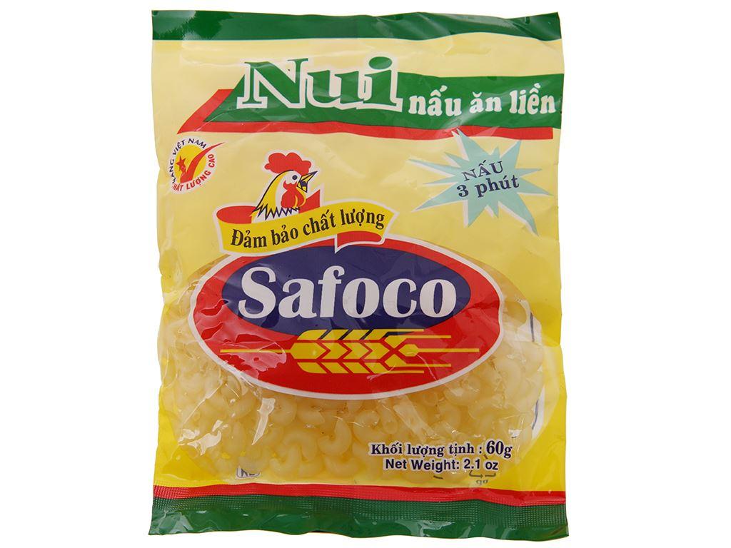 Nui chữ C Safoco gói 60g 2