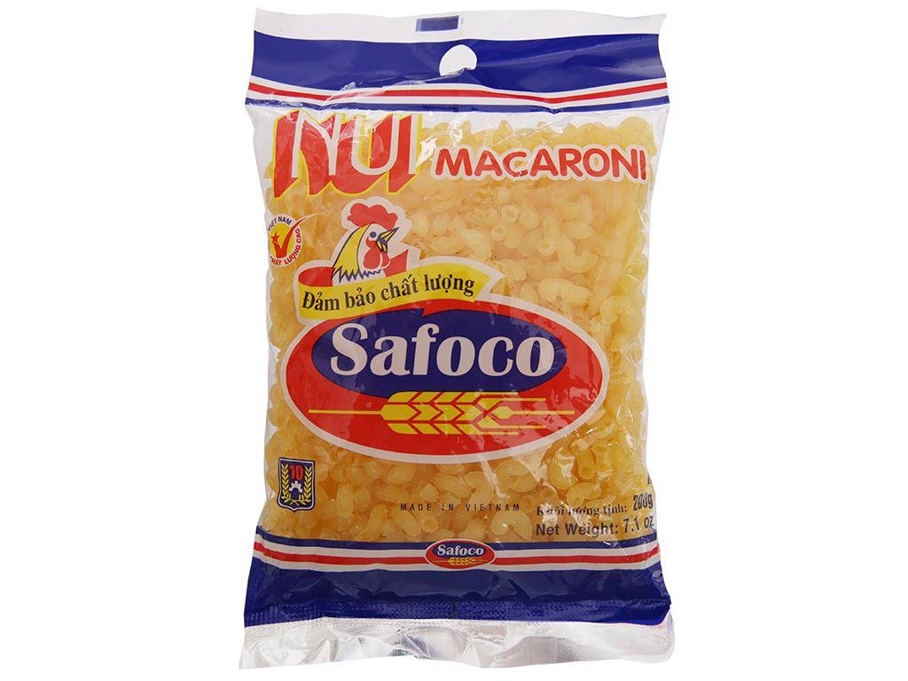 Nui chữ C Macaroni Safoco gói 200g 2