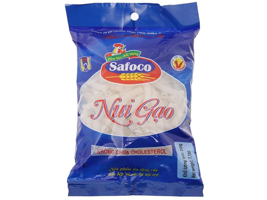 Nui gạo trắng Safoco gói 200g 2