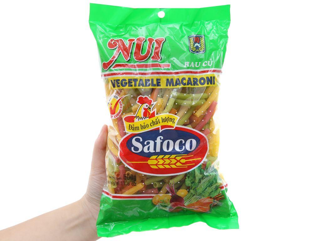 Nui rau củ ống lớn Safoco gói 500g 5