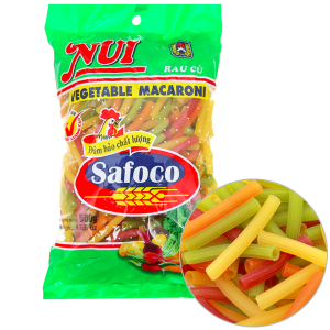 Nui rau củ ống lớn Safoco gói 500g
