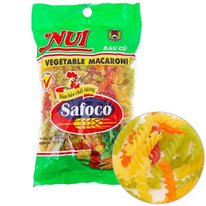 Nui rau củ xoắn Safoco gói 300g